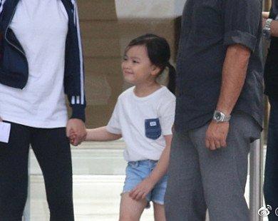 Con gái 5 tuổi của Lưu Đức Hoa hiếm hoi lộ diện