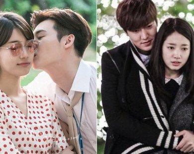"""Buồn ngủ vì 5 cặp đôi phim Hàn có tương tác """"nhạt như nước lã"""