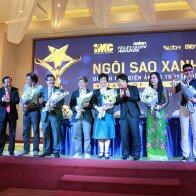 Dàn sao khoe sắc tại họp báo giải thưởng Ngôi Sao Xanh 2017