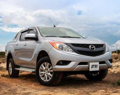 Giá Mazda BT-50 MT còn 592 triệu đồng, rẻ nhì Việt Nam