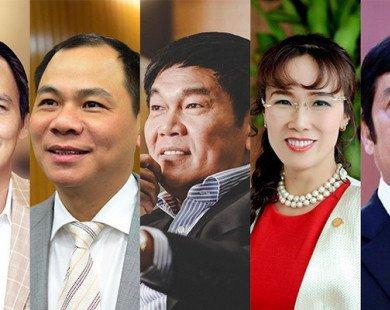Ai giàu nhất sàn chứng khoán Việt Nam năm 2017