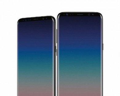 """Galaxy S9+ nới rộng màn hình, không có """"tai thỏ"""" như iPhone X"""