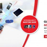 Giảm ngay 4% khi mua hàng trả góp lãi suất 0% tại FPT Shop với  thẻ tín dụng Quốc tế Maritime Bank