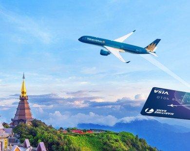 Bay 'cực đã' và nhận hoàn tiền tới 2 triệu đồng cùng Maritime Bank  khi đặt vé Vietnam Airlines