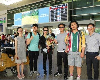 Đoàn múa trống nhạc Hàn Quốc Rhythm & Theater chính thức có mặt tại Việt Nam