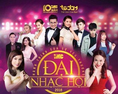 Mỹ Tâm, Phi Nhung, Bảo Anh khởi động lễ hội âm nhạc hoành tráng - Đại hội IMC 2018