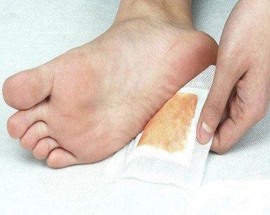 Thực hư tác dụng của miếng dán chân thải độc