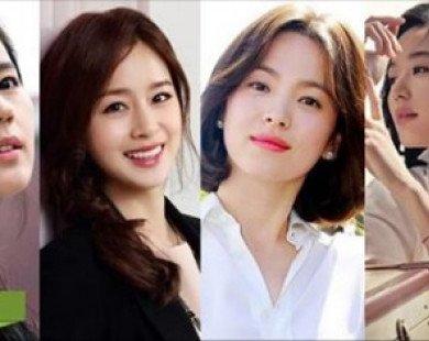 Ngưỡng mộ cuộc sống viên mãn, hạnh phúc của tứ đại mỹ nhân màn ảnh Hàn Quốc