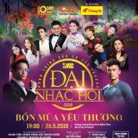 Thủ môn Bùi Tiến Dũng làm khách mời đặc biệt trong Đại nhạc hội IMC 2018 tại Hà Nội
