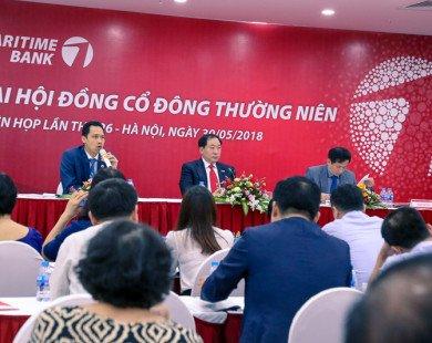 Đại hội đồng cổ đông Maritime Bank 2018: Tăng cường đầu tư hệ thống, tạo nền tảng vững chắc cho các chiến lược phát triển trong giai đoạn mới và niêm yết trên HOSE vào quý 1/2019