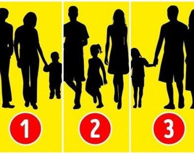 Theo bạn, bức hình nào sau đây không phải một gia đình thực sự?