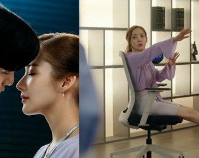 """""""Ngã ngửa"""" với """"nụ hôn đẩy ghế"""" như siêu nhân của phó chủ tịch Lee khiến thư ký Kim cũng """"cạn lời"""""""