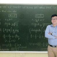 Thầy Lê Hải Trung giúp học sinh yếu kém Toán đạt điểm cao