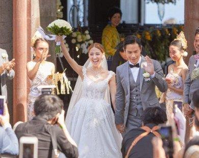 Dàn sao TVB cùng tụ họp tại đám cưới đẹp như cổ tích của Trịnh Gia Dĩnh tại Bali