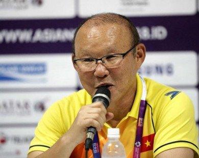 HLV Park Hang-seo trải lòng sau chiến thắng trước Olympic Nhật Bản