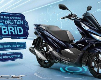 """Xe tay ga """"sạch"""" Honda PCX Hybrid bất ngờ về Việt Nam"""