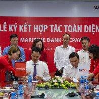 Maritime Bank ký kết hợp tác chiến lược với ECPAY