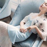 Fashionista Châu Bùi hóa thân thành quý cô kiêu kỳ