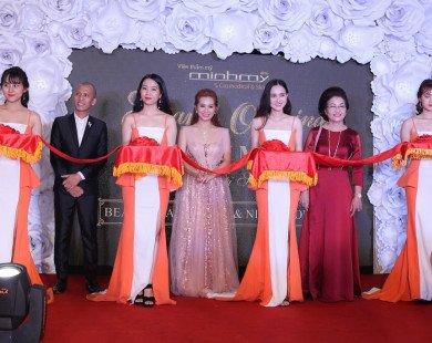 Dàn nghệ sĩ chúc mừng nhà thiết kế Minh Mỹ khai trương viện thẩm mỹ chuẩn 5 sao