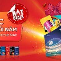 Chủ thẻ tín dụng nhận hoàn tiền và iPhone XS Max  từ 'Đại tiệc ưu đãi cuối năm cùng Maritime Bank'