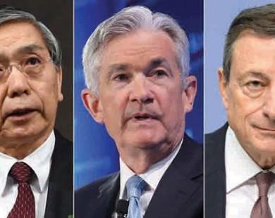 Khi ngân hàng trung ương 'hết đạn'