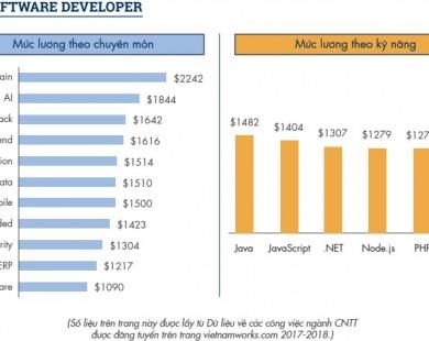 Kỹ sư Blockchain tại Việt Nam nhận lương hơn 50 triệu đồng mỗi tháng