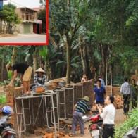 Ồ ạt xây dựng công trình quanh bãi rác Nam Sơn chờ tiền đền bù