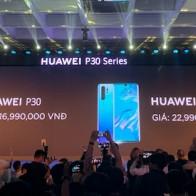Huawei P30 giá từ 16,99 triệu đồng tại Việt Nam