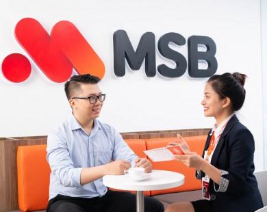 Hưởng ưu đãi cộng lãi suất tiết kiệm tới 0,4% từ sản phẩm kết hợp giữa MSB và Bảo Việt