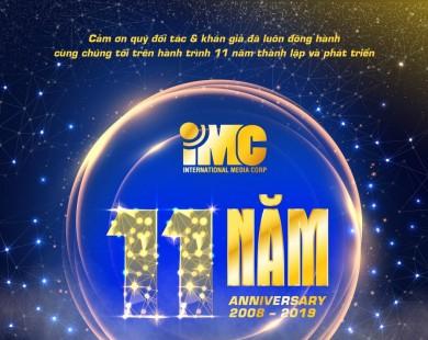 Chào mừng sinh nhật 11 năm thành lập IMC-TodayTodayTV