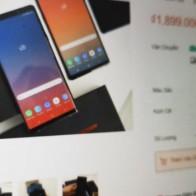 Rừng iPhone, Galaxy Note9 nhái, giả giá 3 triệu trên Lazada, Shopee