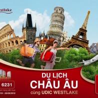 Du lịch châu Âu cùng UDIC Westlake