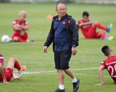 HLV Park Hang-seo chốt danh sách 32 tuyển thủ ĐTVN, Văn Quyết vẫn vắng mặt
