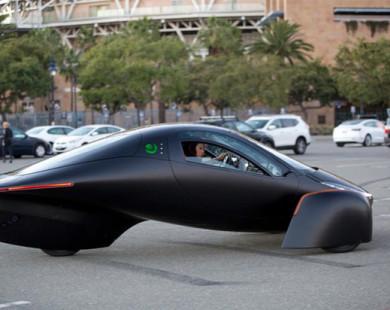 Mẫu xe điện đi được 1.600 km mỗi lần sạc
