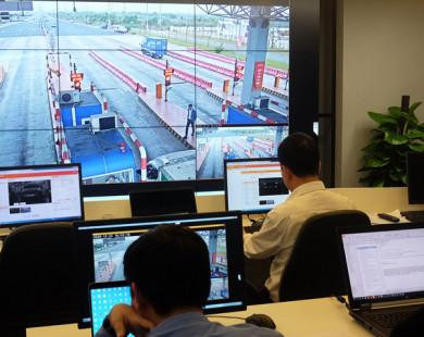 Công nghệ thu phí đường bộ trong 0,2 giây