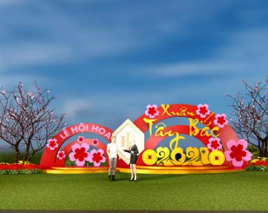 """Chờ đón Lễ hội hoa """"Xuân Tây Bắc 2021"""" quy mô bậc nhất Hòa Bình"""